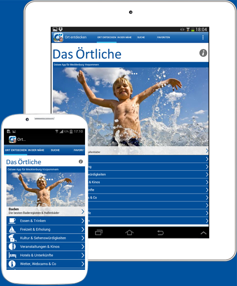 Ostsee-App-Android